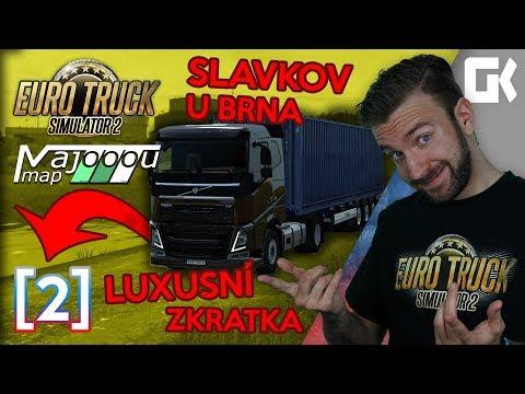 SLAVKOV U BRNA ANEB LUXUSNÍ ZKRATKA! | Euro Truck Simulator 2 MajooouMap #02