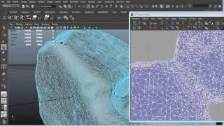 Texturing Workflow - UV's Maya And Texturing In Mudbox