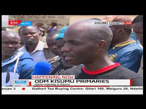 Kisumu gubernatorial aspirant Dr. Hezron Mc'Ombewa is unhappy with the ODM primaries