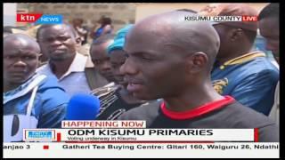 Kisumu gubernatorial aspirant Dr. Hezron Mc'Ombewa is unhappy with the ODM primaries