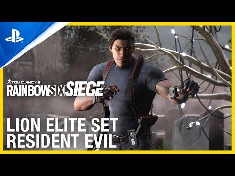 Lion Elite Set: Resident Evil Collaboration | PS4 de Tom Clancy's Rainbow Six: Siege