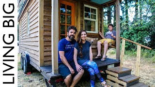 Life In The World's Most Traveled Tiny House - Video Youtube