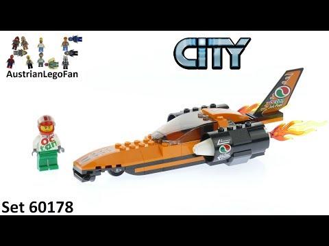 Vidéo LEGO City 60178 : La voiture de compétition