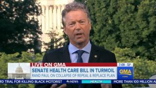Rand Paul Met with Donald Trump to Talk About the Failed Healthcare Bill