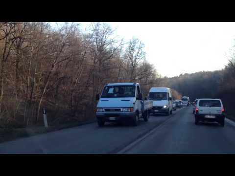 Camion protesta rallenta il traffico