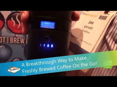 A Breakthrough Way to Make Freshly Brewed Coffee On the Go! @ CES 2018