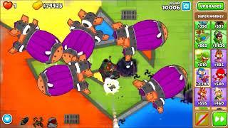Bloons TD 6 - High round challenge in Half Cash CHIMPS