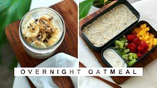 2 Overnight Oats By Alice Esmeralda -  Recette Healthy