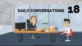 Actions - Daily Life & Work - 18 - English Lessons for Life - Daily English Lessons