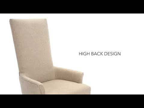 Wendota D746-02A Dining UPH Arm Chair