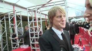 Оуэн Уилсон, Оуэн Уилсон на Red Carpet Золотого Глобуса 2012