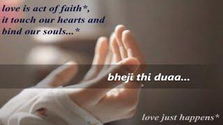 DUAA from Shanghai-2012 with lyrics (jo bheji thi duaa) created by guru