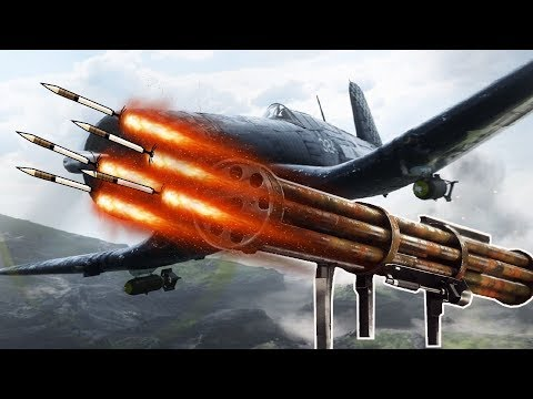 FLIEGERFAUST The ULTIMATE Nazi Wonder Weapon (Battlefield V Pacific)