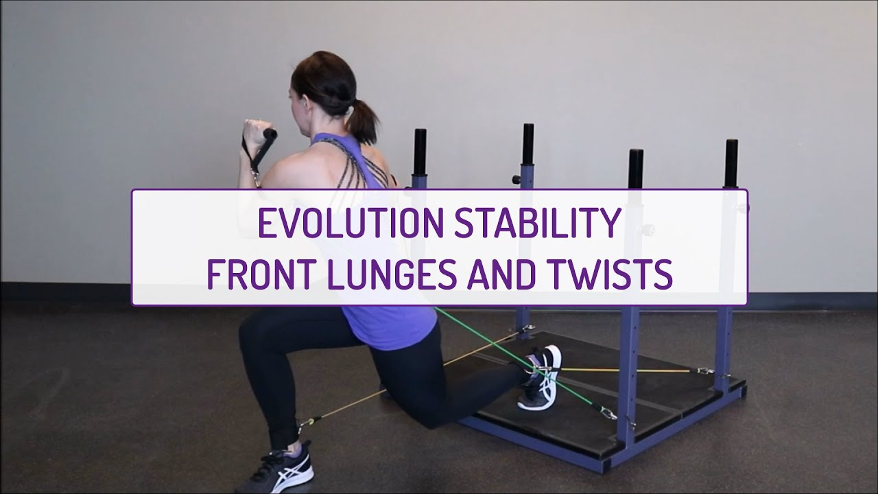 Evolution Stability Front Lunges and Twists