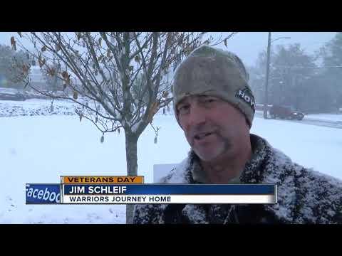 Washington County 'witness tree' brings awareness to veteran suicide