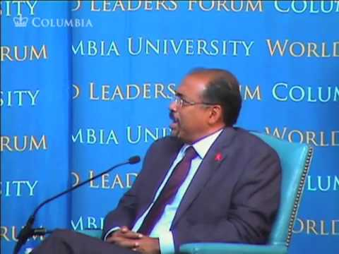 Columbia University World Leaders Forum: A Future without HIV/AIDS: Dream or Reality?