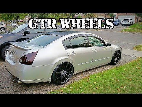 GTR Rims On A Maxima!!!