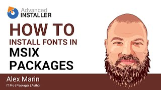 MSIX Fonts – How fonts are installed in an MSIX package?