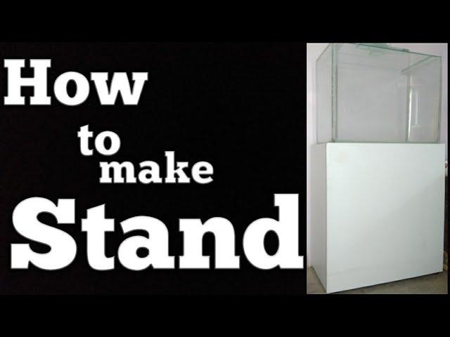 How To Make Aquarium Stand