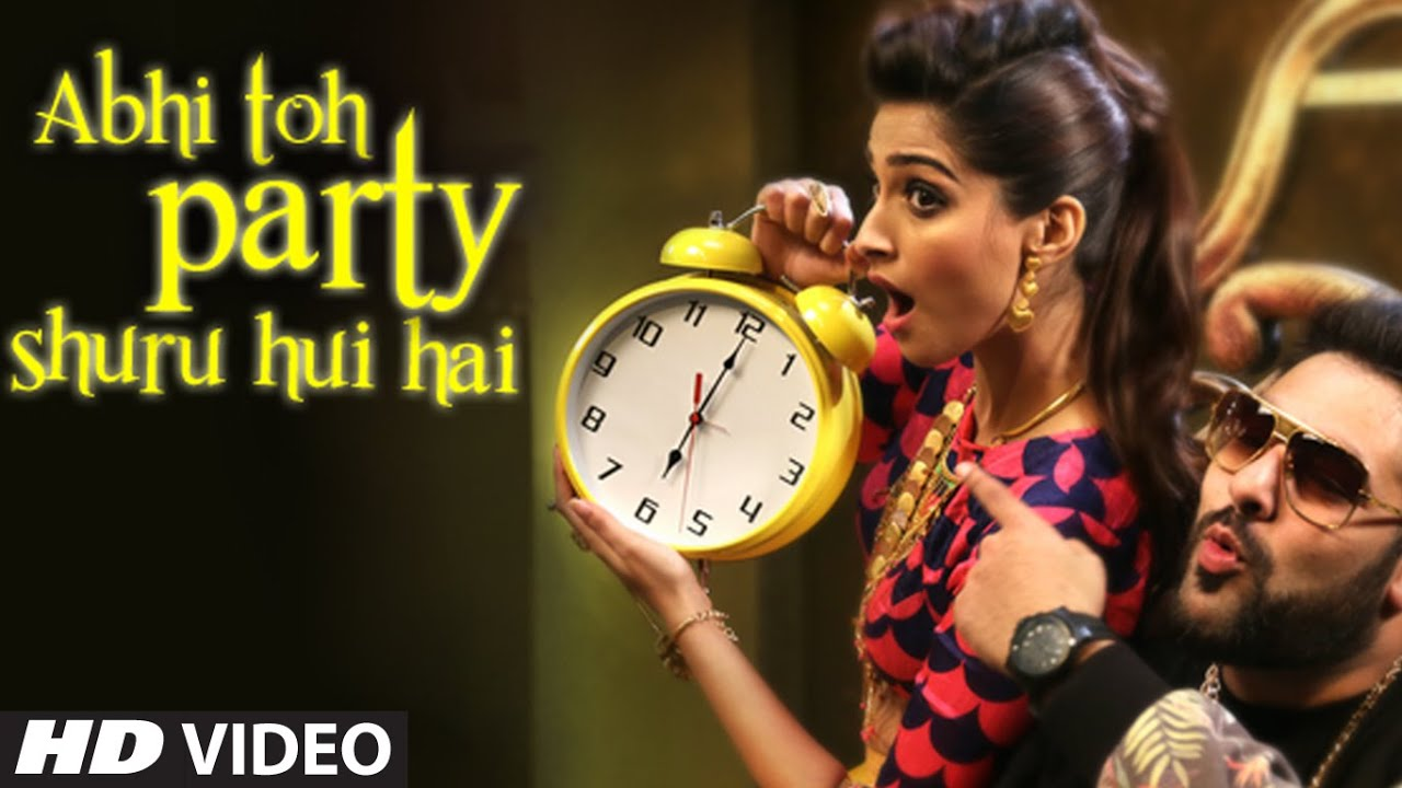 abhi to party shuru hui hai Hindi lyrics