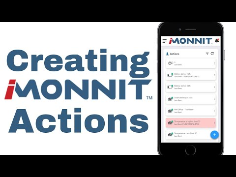 Creating new actions in iMonnit