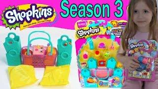Покупка Шопкинсы пакетик с игрушкой и сюрприз распаковка Shopkins surprise bags with toys