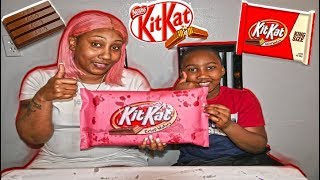 SwaggBoi & SwaggMom Make The Biggest KitKat In The World