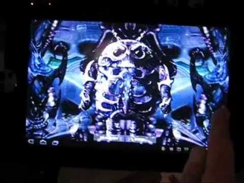 Video of Biomechanical Droid Wallpaper