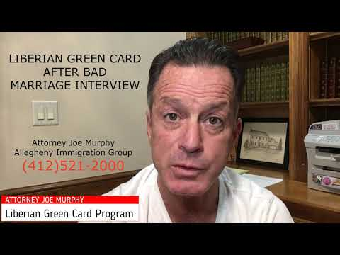 Liberian Green Card After Bad Marriage Interview - Thumbnail