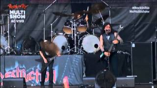 Destruction e Krisiun - Black Metal (Venom Cover) (Live Rock In Rio 2013)