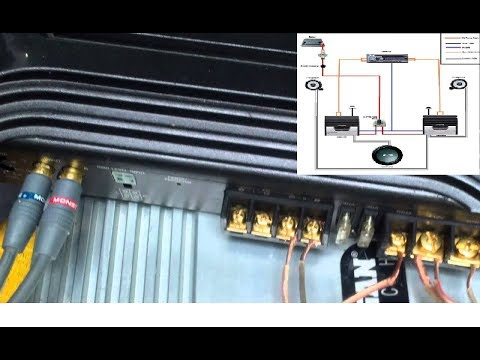 How to connect your car amplifier. Please subscribe to help my channel