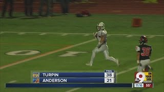 Turpin 38, Anderson 21