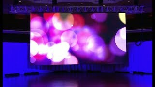Center launches new LED video system
