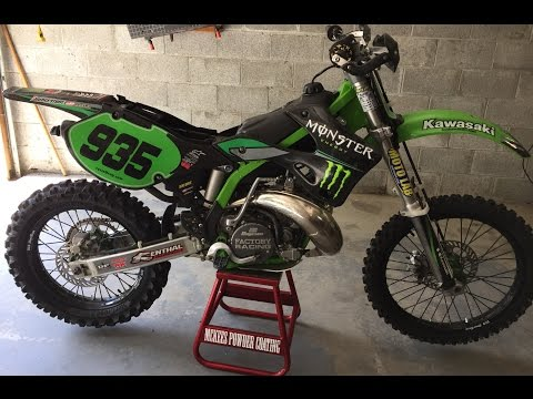 KX 250 Beastly Build! How to Transform a  Motocross bike to a Woods Dirtbike