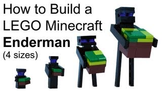 How To Build LEGO Minecraft Enderman