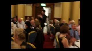 preview picture of video 'Rotary Ireland Conference 2014 - City Hall Reception Entertainment 2'