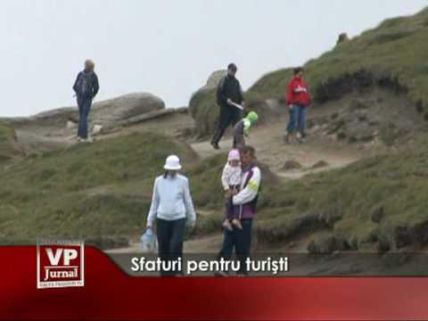 Sfaturi pentru turişti