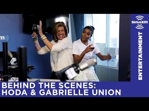 Hoda Kotb & Gabrielle Union have a dance party in the Today Show Radio studio