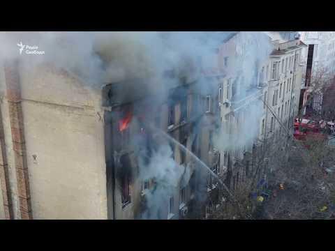 , title : 'Пожежа в Одесі – відео з дрону'
