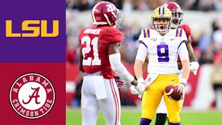 #2 LSU vs #3 Alabama First Half Highlights | 2019 College Football Highlights