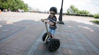 VLOG Сигвей Гироскутер Осваиваем чудо-технику giroboard gyroscooter segway