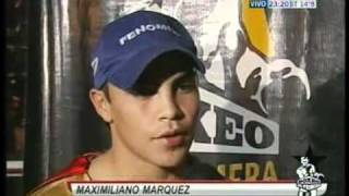 JESUS CUELLAR - MAXI MARQUEZ - REPORTAJES RING SIDE