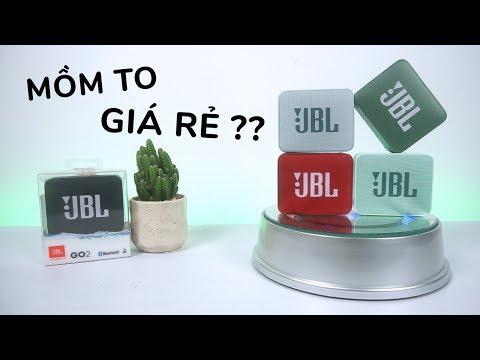 Đánh giá JBL Go 2 l Loa nhỏ mồm to - Chống nước hoàn hảo