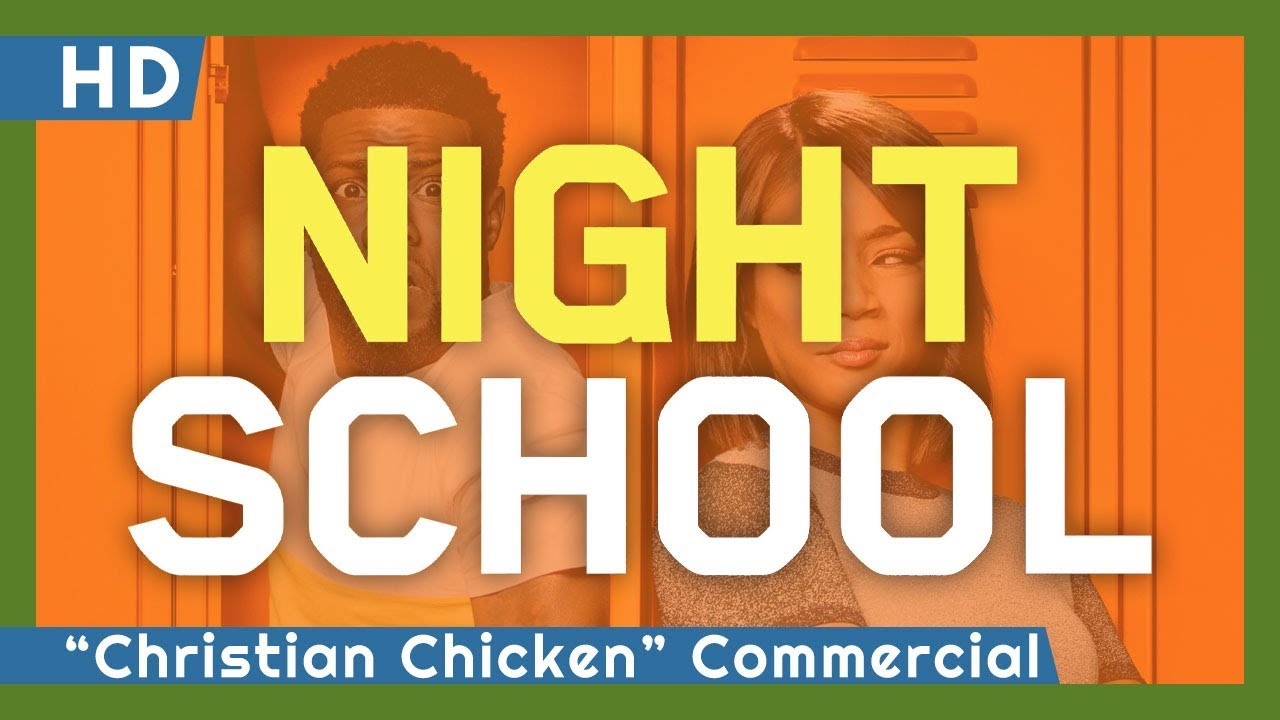 "Video trailer för Night School (2018) ""Christian Chicken"" Commercial"