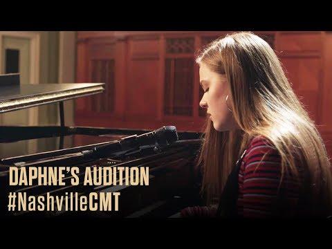 NASHVILLE on CMT | Daphne Auditions Behind Deacon's Back