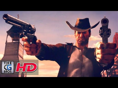 """CGI 3D Animated Trailers: """"Desperados III Announcement Trailer"""" – by Puppetworks Animation Studio"""