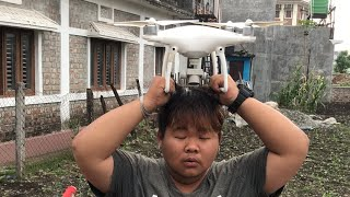 Creashed My Drone | DJI Phantom 4 | Stay At Home Be Safe