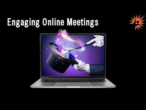 Zoom Webinar: How to Host More Engaging Zoom Meetings