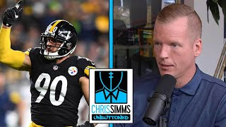 Damn, okay: T. J. Watt lived up to contract against Seahawks | Chris Simms Unbuttoned | NBC Sports