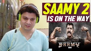 Saamy² - Trailer Reaction   Chiyaan Vikram, Keerthy Suresh   Hari   Devi Sri Prasad   Shibu Thameens